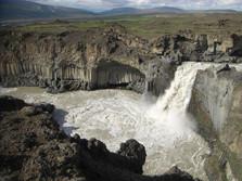 Säulenbasalt auf Island 3