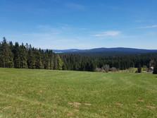 Böhmerwald - Blick nach Norden (Moldaustausee)