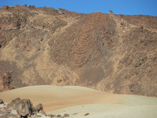 Lavastrom am Teide 2