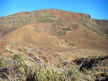 Parasitärkrater am Teide
