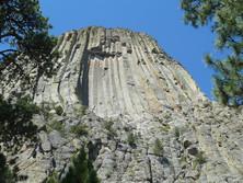 Vulkanschlot Devils Tower Wyoming 2
