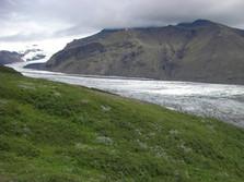 Gletscher im Süden Islands 1