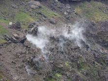 Fumarolen auf dem Vesuv 2