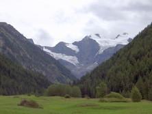 Kerbtal in der Region Aosta
