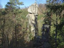 Kerzenstein im Pesenbachtal