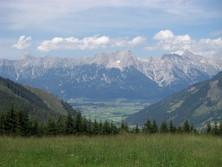 Steinernes Meer von der Schmittenhöhe aus