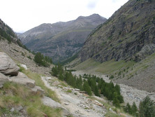 Trogtal in der Region Aosta