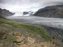 Gletscher im Süden Islands 2
