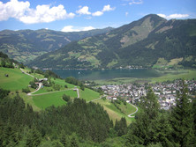 Salzburger Schieferalpen bei Zell am See
