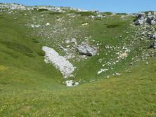 Doline in Font d'Urle