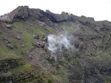 Fumarolen auf dem Vesuv 1