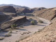 Wadi in Namibia