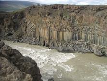Säulenbasalt auf Island 2