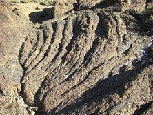 Stricklava auf Teneriffa