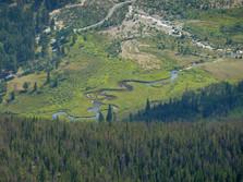Mäander im Rocky Mountains NP