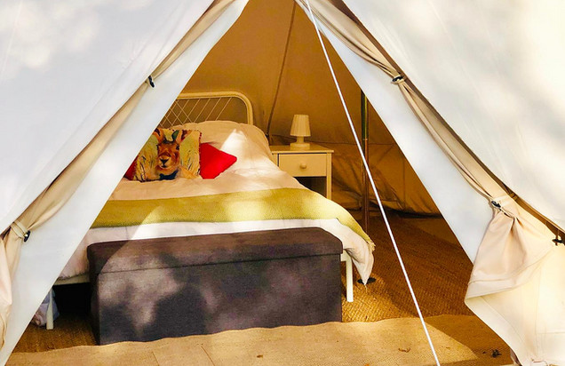 It's not camping, we're all about glamping