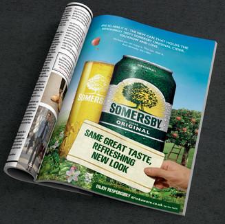 Somersby Cider Rebrand