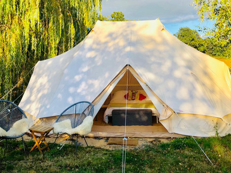 It's not camping, we're all about glamping.