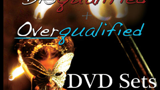 2 Set DVD - Disqualified + Overqualified