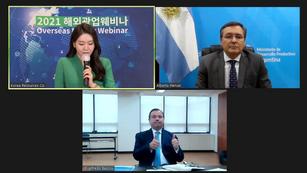 Argentina: El Gobierno ofreció a empresarios coreanos un seminario de inversiones mineras