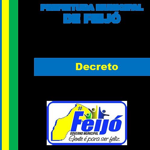 DECRETO Nº 023/2019 Nomeia Francisco Valdemir Tavares da Silva