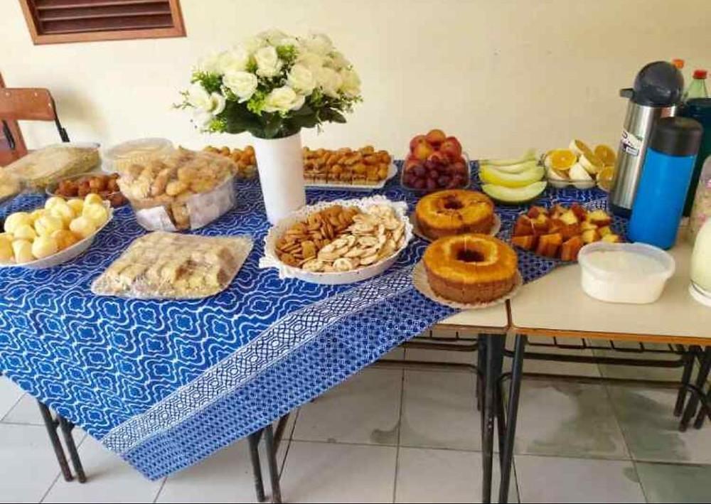 Café da manhã de boas vindas aos novos profissionais da saúde