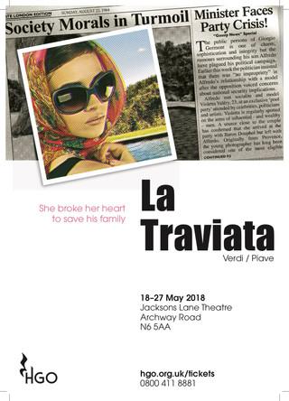 La Traviata | Hampstead Garden Opera | 2018