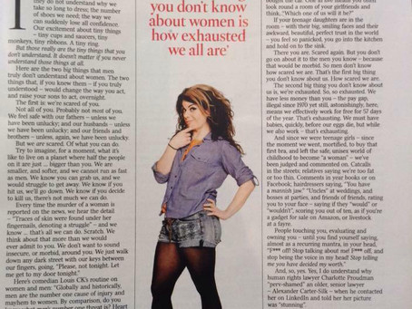Response to Caitlin Moran's 'What men need to know about women'