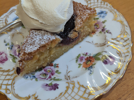 RECIPE - PLUM CAKE BY CHELSEA SUGAR