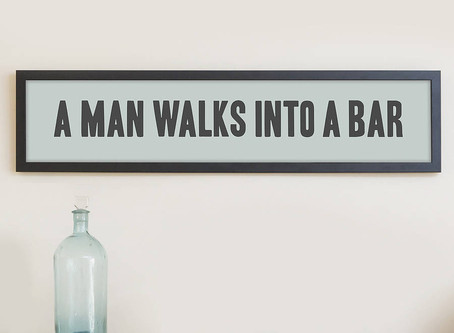 The past, present, and future walk into a bar...
