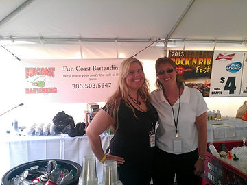 We were hired by the City Of Palm Coast to provide beverage service at the Rock N Rib Fest