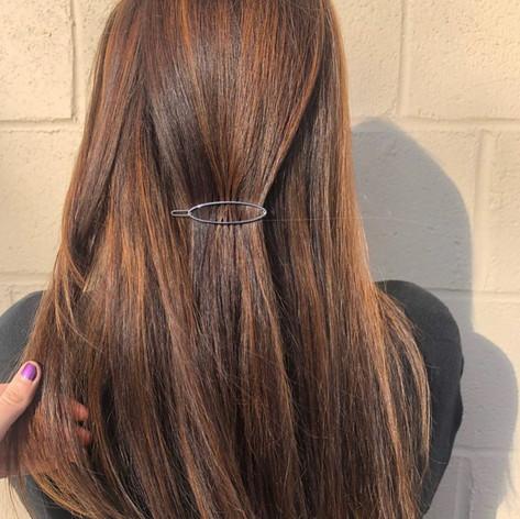 Multi dimensional brunette