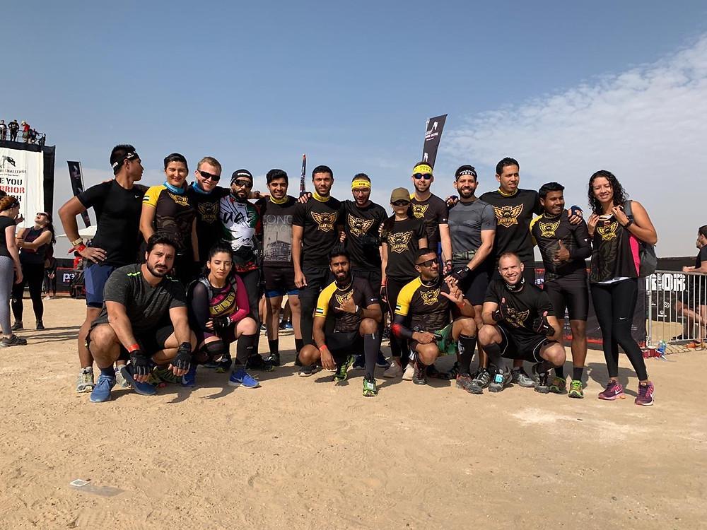 ocr nation team before desert warrior challenge.