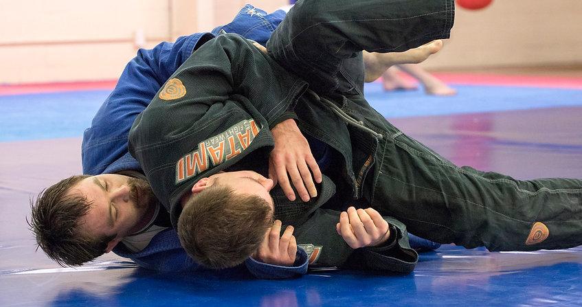 Brazilian Ji Jitsu sparring is good for fitness, compeititon and self defence.