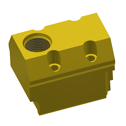 Check Valve Adapter Block - DX