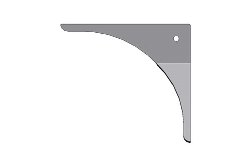 Door Frame Gusset -Formed Right Hand