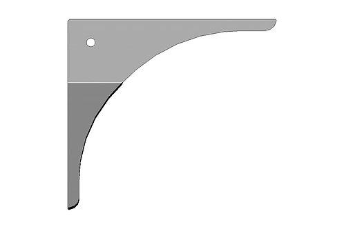 Door Frame Gusset -Formed Left Hand