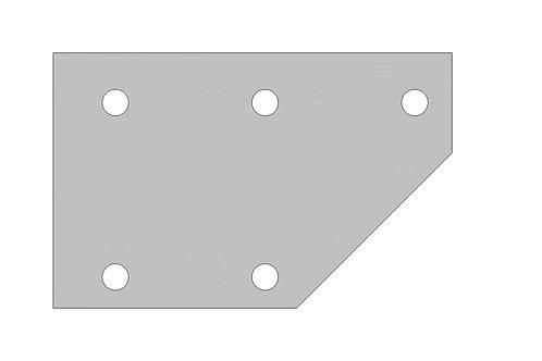 Flat Top Rail Bolt Plate