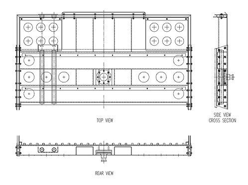 "Coupler - 36"" Pin Setting"