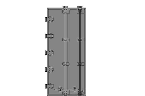 Barn Door Driver Side - 114-5/8""