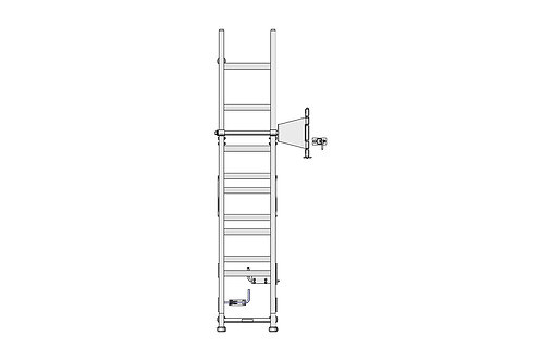 Inset Swing Out Ladder