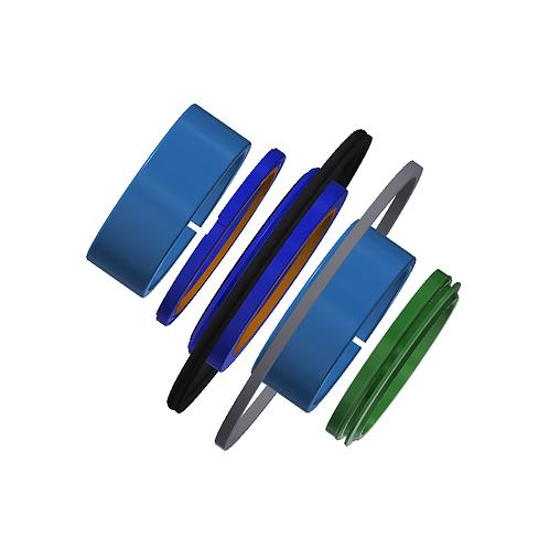 "3-1/2"" Bore Cylinder Seal kit - Post 2009"