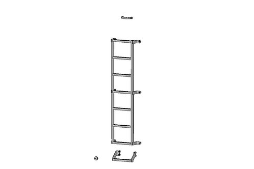 Smoothflow Full Rear Door Ladder