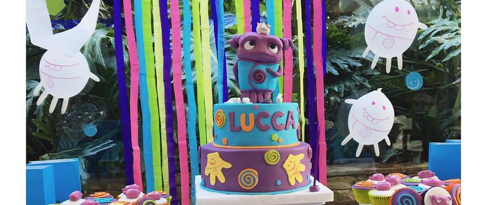 Torta decorada + Candy Bar