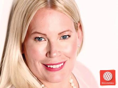 Therese Nyrén - Gästkrönika hos Börsvärlden