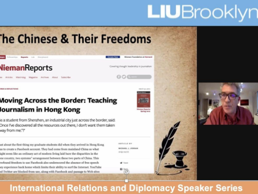 Sino-American relations and stories - Political Science panel highlights