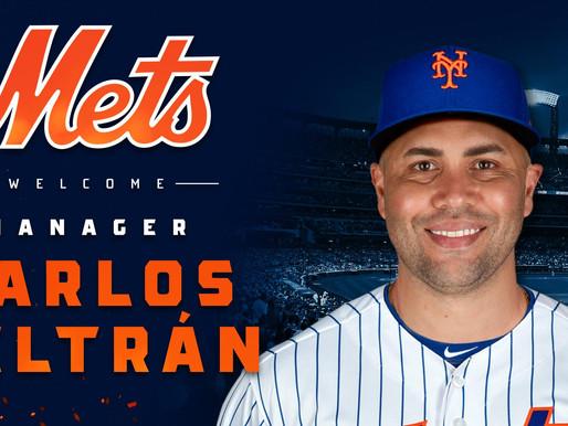 Carlos Beltran Named Mets Manager