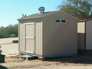 New Airgun Division Shed Installed!