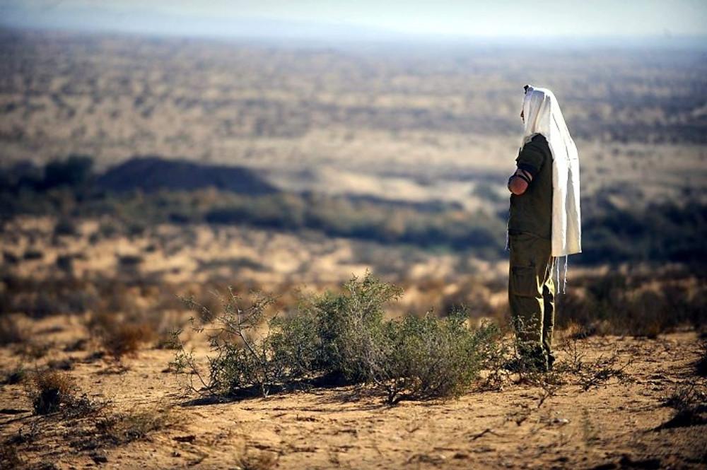 idf praying