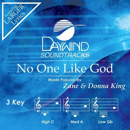 Accompaniment Track- No One Like God